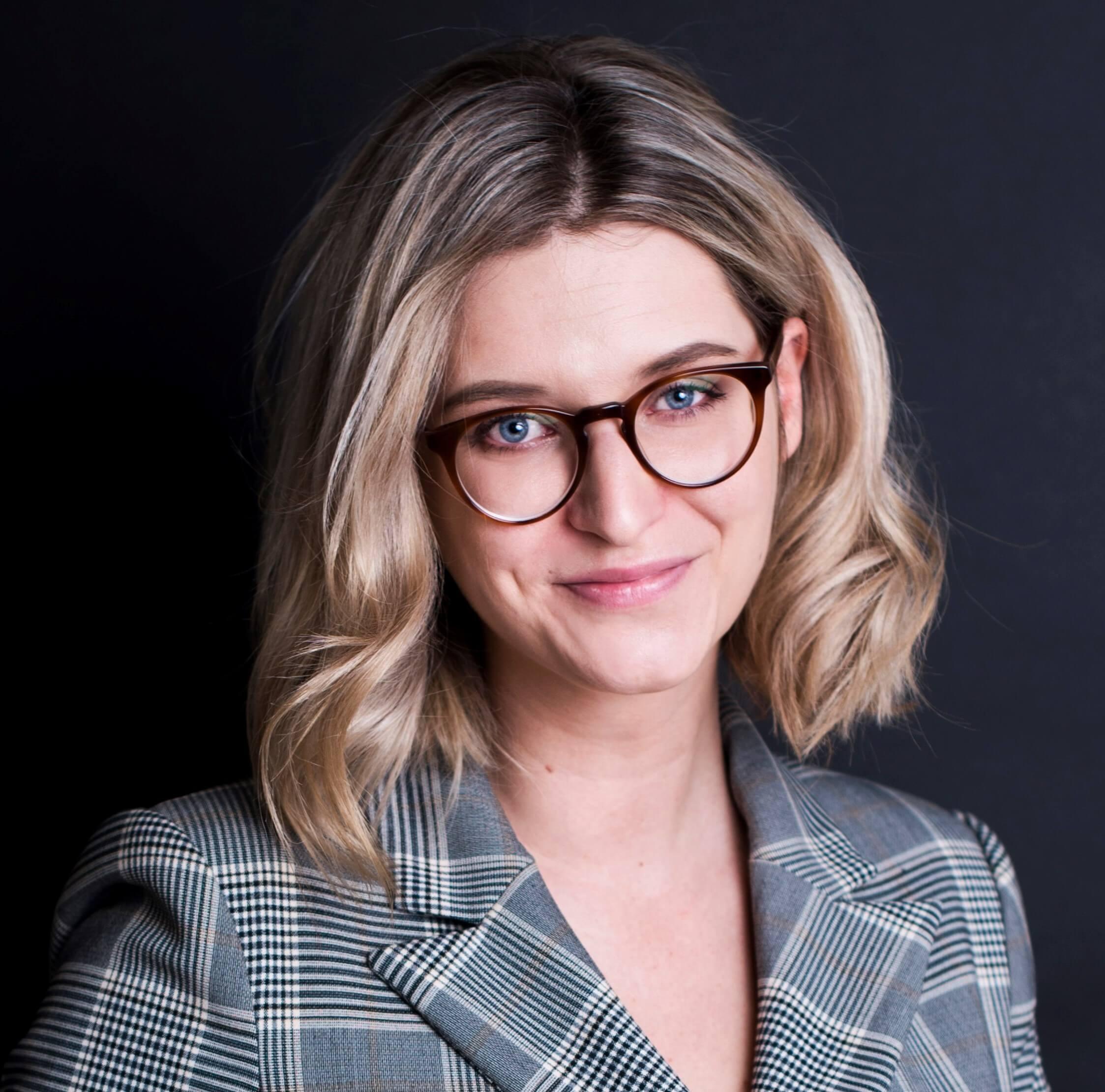 portret Ania Skuza z prawo tuszu